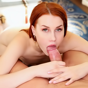College girl Charlie Red fucks her new boss